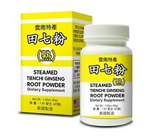 Steamed Tienchi Ginseng Root Powder Supplement Helps Circulation Made In USA