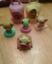 Littlest Pet Shop LPS McDonalds Lot Of 10 Animals Cute!!! (G)