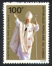 Congo 1980 Visit of Pope John Paul/Religion 1v (n21951)