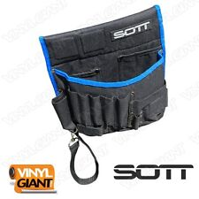 SOTT Wrap Tool Bag for Vinyl Vehicle Car Wraps Decals Sticker
