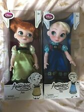 Disney Store Animator Dolls Frozen First Edition