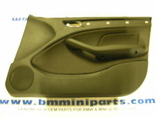 BMW E46 Front Right Door Card Tex2000 Anthracite 51417043058
