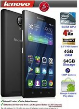 "Lenovo k80m 5,5 ""Android Smartphone Mobile Intel z3560 CPU 4 GB di RAM 64GB 4G NFC"