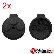 2 Stück Smart Gummi 3 Tasten Tastenfeld 451 fortwo Auto Schlüssel Gehäuse Neu