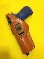 Leather Concealment Holster for  BERETTA 92 - LEFT Hand Draw (# 201L BRN)