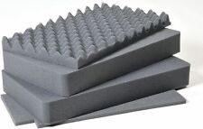 Pelican 1510 Replacement foam 4 piece OEM set. (Pluck Foam) 1511. Pelican foam.