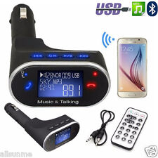 Bluetooth Sans-fil Voiture MP3 Lecteur Transmetteur FM Modulateur SD USB LCD