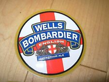 WELLS & YOUNG BOMBARDIER English STICKER decal craft beer brewing brewery