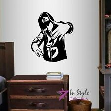 Vinyl Decal Rapper Hand Signs Hip-Hop Street Guy Teen Bedroom Wall Sticker 157