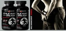 Female Desire - UNLEASH YOUR BEAST - Male stamina 2 Bottles