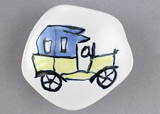 A small 1940's 50's Antonia Campa dish/bowl for Lavenia. Italian. Hand painted.