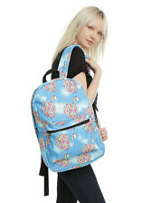 Disney Pixar Up Carls Balloon House Canvas School Book Bag Large Backpack New