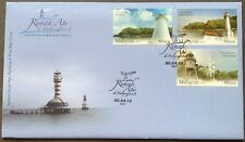 M'sia FDC Lighthouses series II 30.4.2013