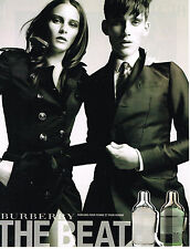 PUBLICITE  2011   BURBERRY   collection boutique parfum THE BEAT
