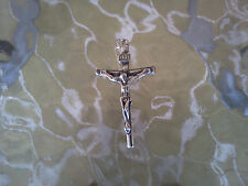 RELIGION JESUS JEWELRY 1 CRUCIFIX CROSS Pewter Charm / Pendant New