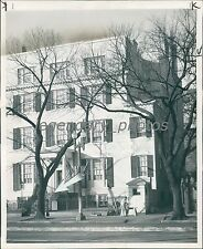 1948 Front Entrance to Blair House in D.C. Original News Service Photo