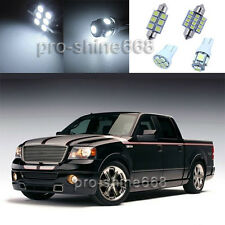 5X White LED Light Interior Bulb Package for Ford F-150 SuperCrew Cab 2004-2008