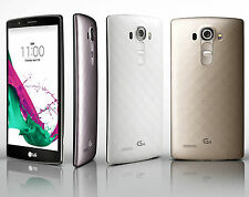 "LG G4 H810 5.5"" 32GB 16MP 4G LTE 3GB RAM Quadcore Libre TELEFONO MOVIL Oro Gold"