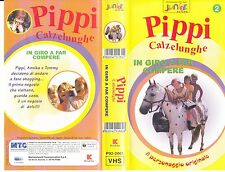 PIPPI CALZELUNGHE - IN GIRO A FAR COMPERE - VHS