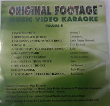 Original Footage Karaoke Disc VCD Vol 9 - Original Videos & Artist *Very Rare*