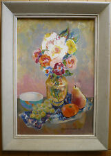 MARGARET CARLSON CALIFORNIA 60s OIL CALIF MOD MODERN COLORISM FAUVIST SIGNED OIL