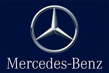 Flag Mercedes Benz 100% polyester indoor and outdoor banner size 90x135 cm