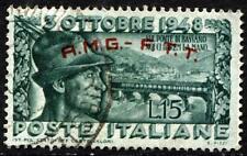 AMG-FTT - 1948  - Ponte di Bassano  - Sassone n.33 - usato