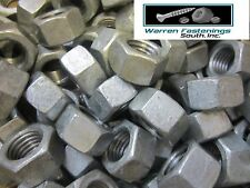 (25) 5/8-11 HEX NUTS HOT DIPPED GALVANIZED 25 PIECES