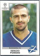 PANINI UEFA CHAMPIONS LEAGUE 1999-00- #207-RANGERS-SERGIO PORRINI