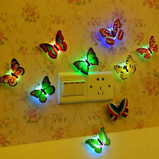 Colorful Butterfly night baby bedside Indoor lighting decorations high quality