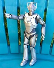 "BIG! 12"" DR DOCTOR WHO BBC CYBERMAN CYBERCONTOLLER ACTION FIGURE FULLY POSABLE!"