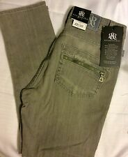 WOMENS ROCK & REPUBLIC JEANS 2 Crop HAMBURG Skinny STRETCH Pavement Grey SEXY