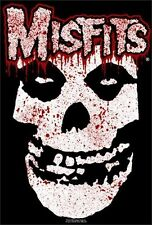 MISFITS - BLOODY SKULL MUSIC POSTER - 24x36 SHRINK WRAPPED - SPLATTER LOGO 607