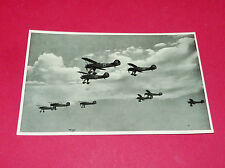 RARE CPA CARTE POSTALE AVIATION LUFTWAFFE 1936 DIE RICHTHOFENSTAFFEL AK