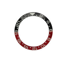 High Quality Black/Red Coke Bezel Insert made for Rolex GMT-Master II