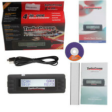 Digital Gauge 4 in 1 TurboGauge IV Auto Computer Scan Tool OBD2 EOBD Code Reader