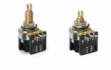 (1) CTS 500K DPDT Push-Pull Potentiometer (long or short shaft) FREE SHIPPING!