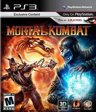 Mortal Kombat  - Sony Playstation 3 Game