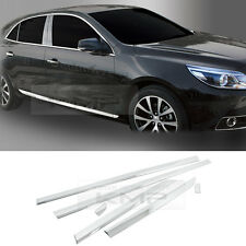 Chrome Side Door Accent Molding Garnish B761 For CHEVROLET 2012-2014 Malibu