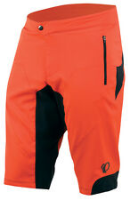 Pearl Izumi Summit Mountain Bike MTB Shorts Mandarin Red - 2XL
