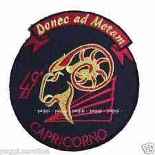 Patch A203 49° Squadrone Capricorno Aviazione Esercito Italiano Toppa con velcro