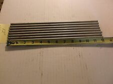 """316 Stainless Steel Round Tube 3/8"""" OD x .035"""" Wall x 12"""" (Seamless) ( qty 8 )"""