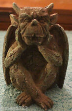 GOBLIN STATUE CERAMIC GLAZE WITCHES HELPER HALLOWEEN FIGURE GIFT DISPLAY ALTAR 3