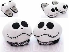 "The Nightmare Before Christmas Plush Adult 11"" Indoor Home Anime Shoes Slippers"