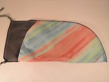 Pistol Sleeve Gun Sock  Durable Lightweight Lined Case Cover Pastel Watercolor