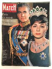 PARIS MATCH french magazine nr 653 1961 FARAH DIBA SHAH OF PERSIA PAHLAVI 60s