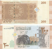Syrien / SYRIA - 200 Pounds 2009 (2013) UNC - Pick 114
