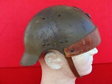 French M36 D.C.A. anti-aircraft crew steel helmet