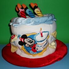 Birthday Cake Disney World Mickey Mouse Happy Birthday Cake Hat Light Up Candles