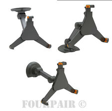 Under Cabinet Wall or Desk Mount Holder Base Dock for Tablet iPad 2/3/4/Air/Pro